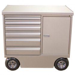 """42"""" 6 drawer pit cart"""